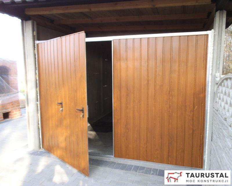 Oryginał Bramy garażowe Taurustal - Taurustal GX31