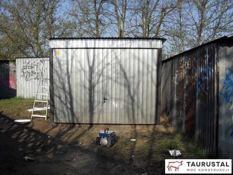 Garaże Ocieplone Taurustal