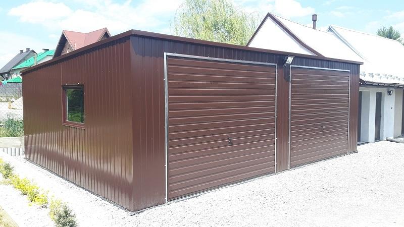 Garaż Akrylowy Ocieplony