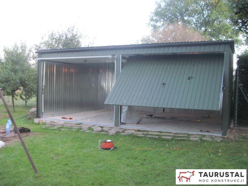 Garaż Blaszany Ocieplony
